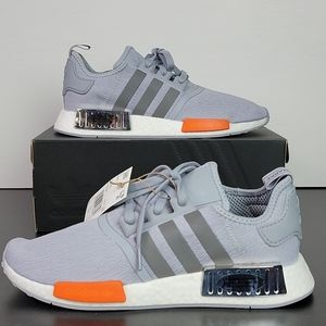 New Adidas NMD_R1 Boost Grey Men's Shoes